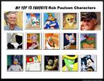 Favorite Rob Paulsen Roles