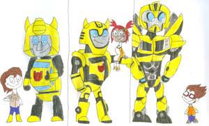 Bumblebee's Partners by SithVampireMaster27