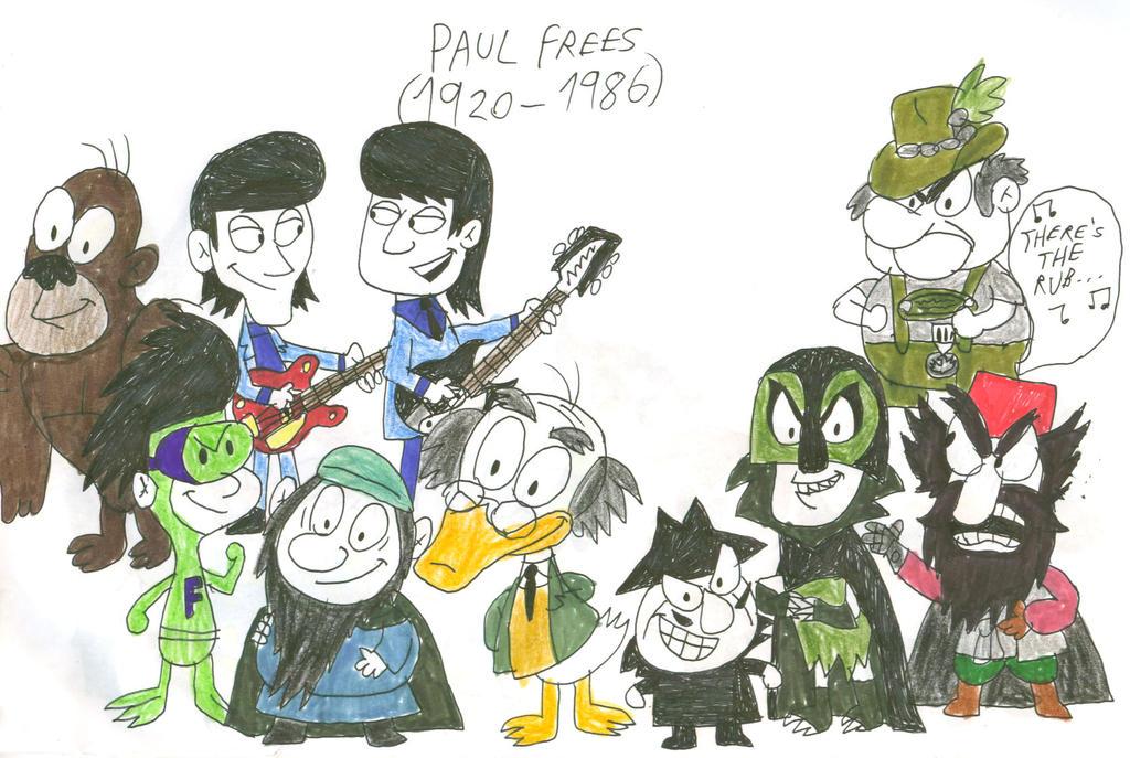 paul frees grinch