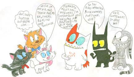 Aristocats Meet Catscratch Cats