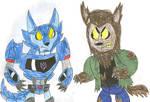 Transformers vs Monsters 12