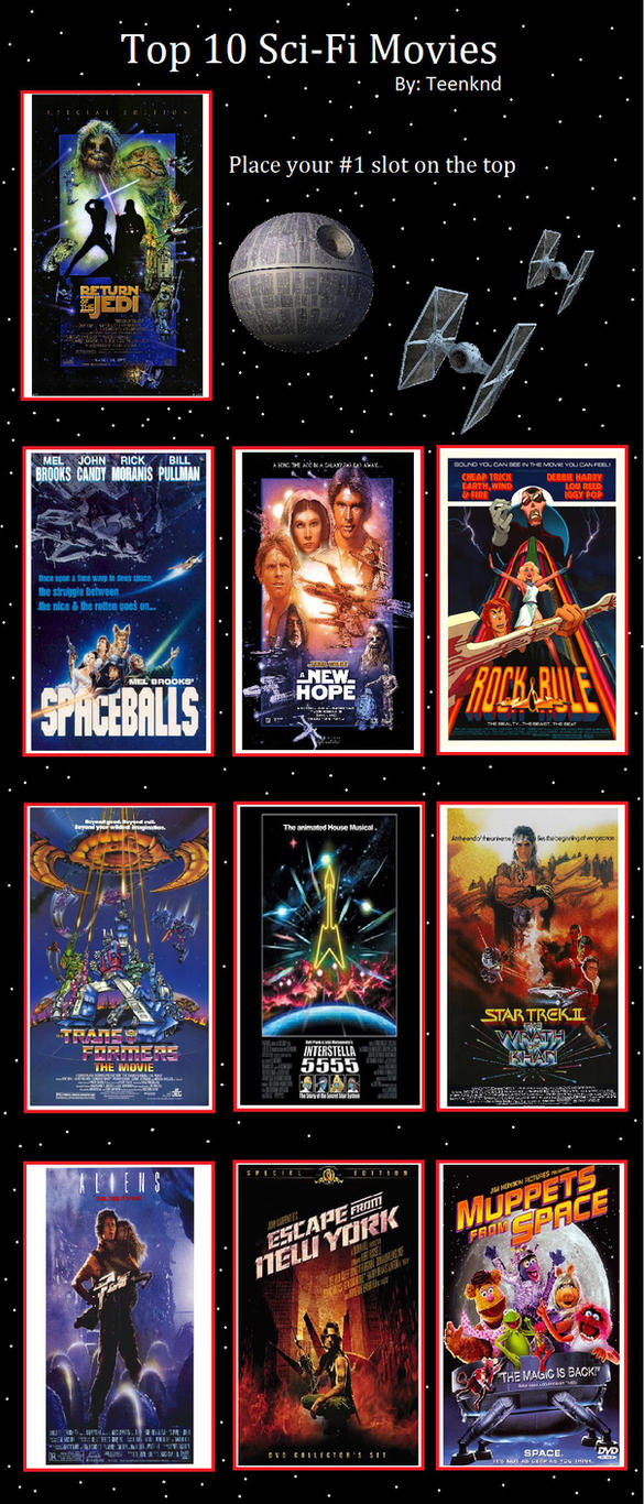 Meine Top 10 Sci-Fi Movies - Liste von HarleyStone