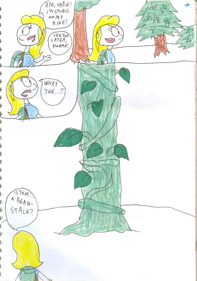 Norma\'s Giant Adventure Part 1 Page 01 by SithVampireMaster27 on ...