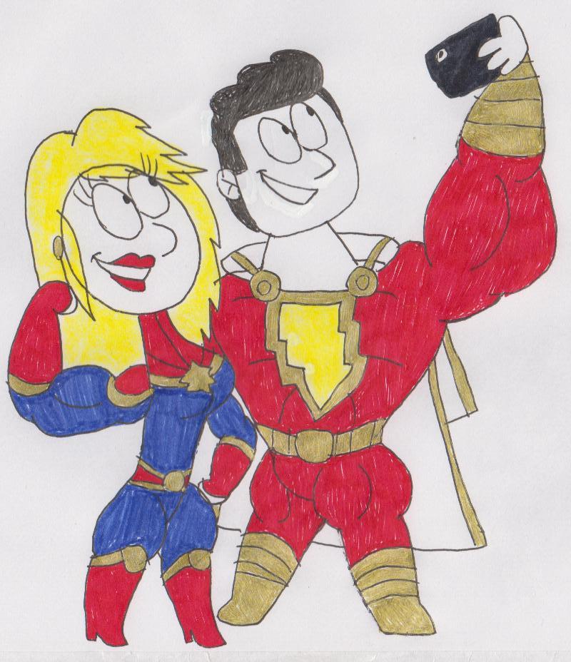 Power Comparison: Captain Marvel VS Shazam by threstic2020