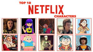 My Top 10 Favorite Netflix Characters