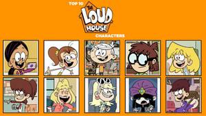 My Top 10 Favorite Loud House Characters