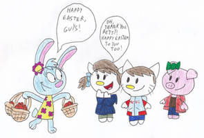 Easter Baskets for Ian and Friends