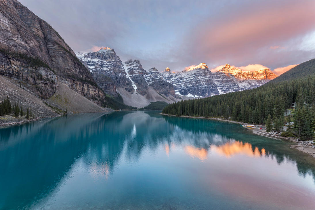 Moraine Lake by paikan07