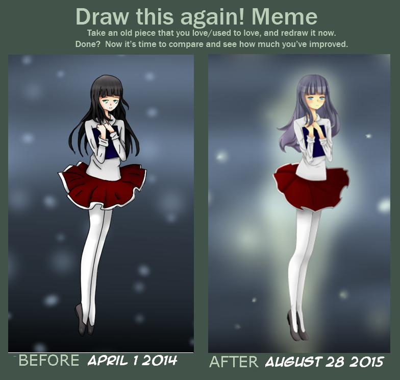 Draw this again meme: Inside a book by gggdw