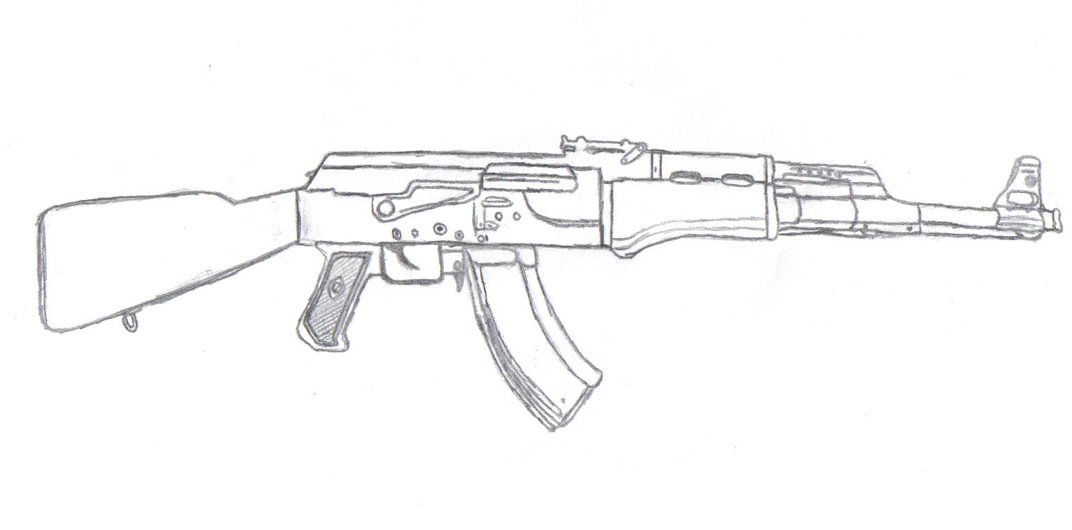 Ak47 By Wthdifference On Deviantart