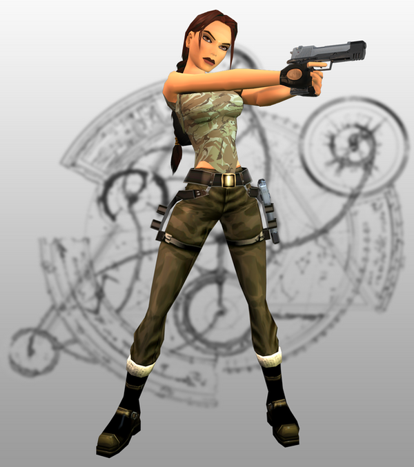 Tomb Rider Wallpaper: The Angel Of Darkness By MicheleMouse On