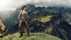 Travel with Lara Croft