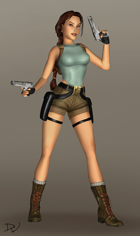Redesigned TR1 Lara by MicheleMouse