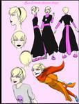 Rose Lolande character design