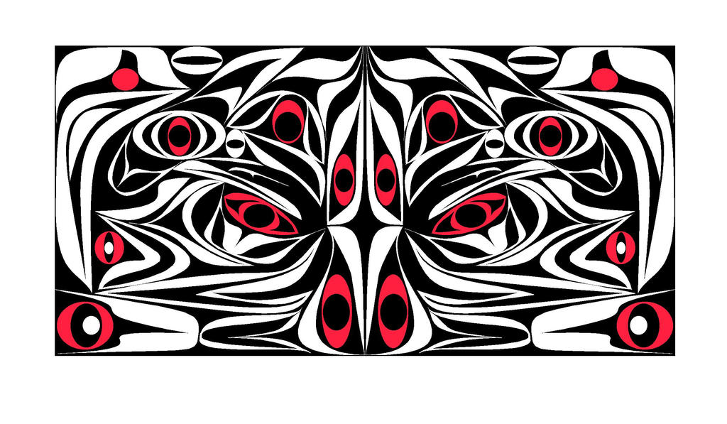Warrior with red by skullzapper on deviantart for Tattoo parlors in anchorage