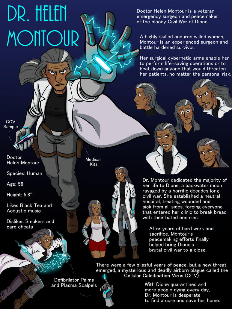 Dr. Helen Montour Ref Page by Harry-Monster