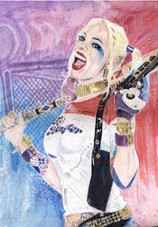 Suicide Squad: Harley Quinn by kleopetra007