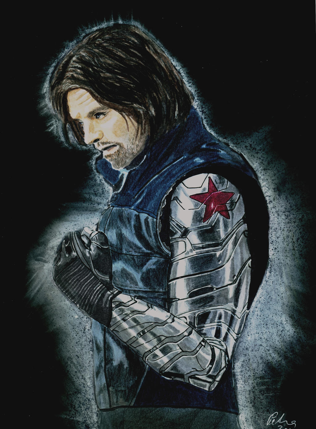 bucky barnes winter soldier wallpaper - photo #15