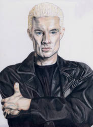 James Marsters as Spike (Buffy the vampire slayer)