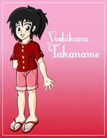 Yoshikana Takaname Colored by theunknown1