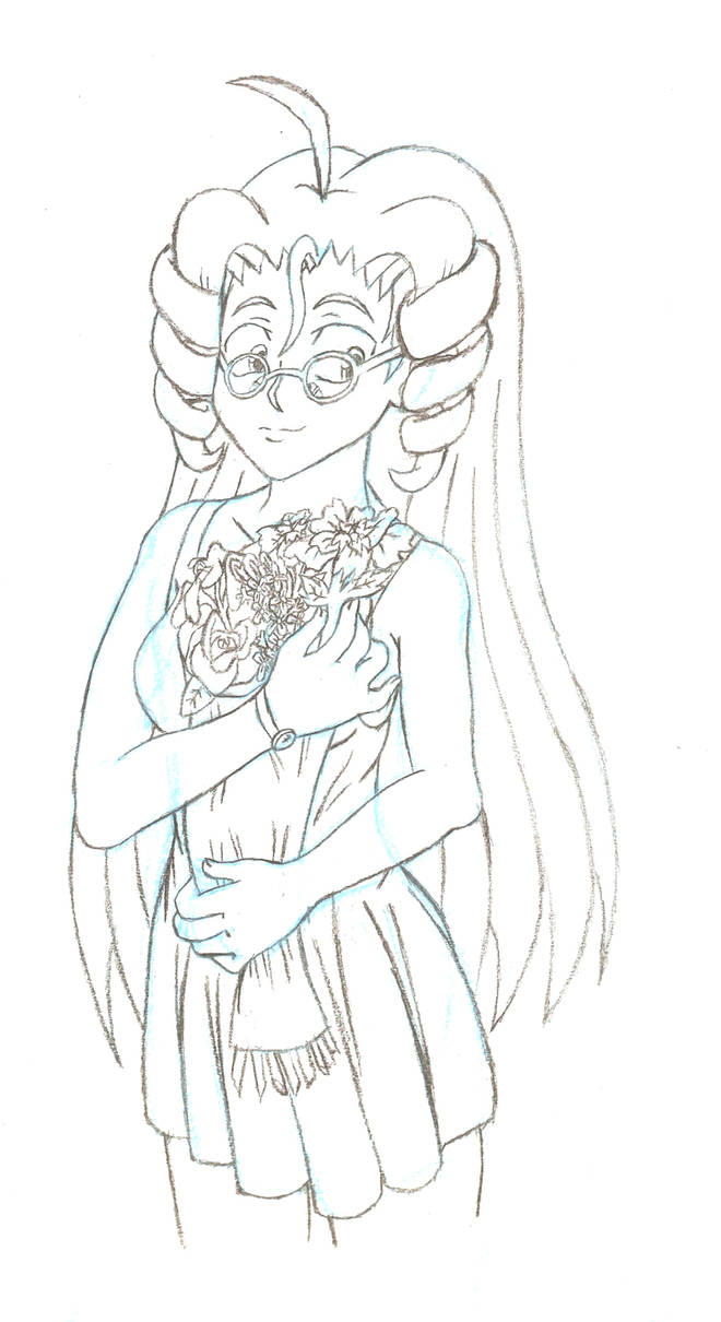 Sketch a meaningful bouquet by theunknown1
