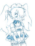 Zombie Maid sketch