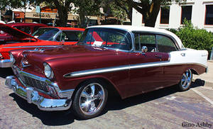 Chevy 4dr  1956
