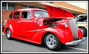 37 Chevy 4dr. Sedan