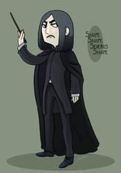 Gloomy Snape by Belruel