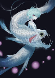 Deep sea Boy by WittleBanzaiTree