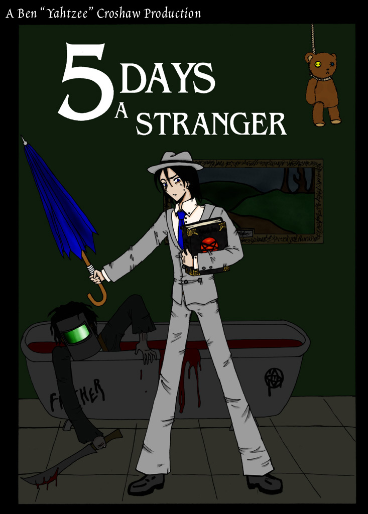 5 days a stranger updated by kyetxian on deviantart