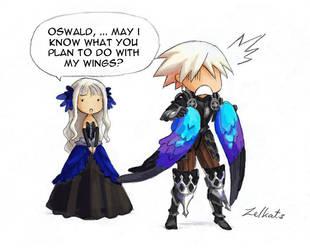 Odin Sphere- Oswald's Dream 3 by Z-goofs