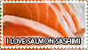 Salmon sashimi - stamp by Z-goofs