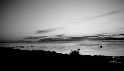 A silent sunset by aisslinn