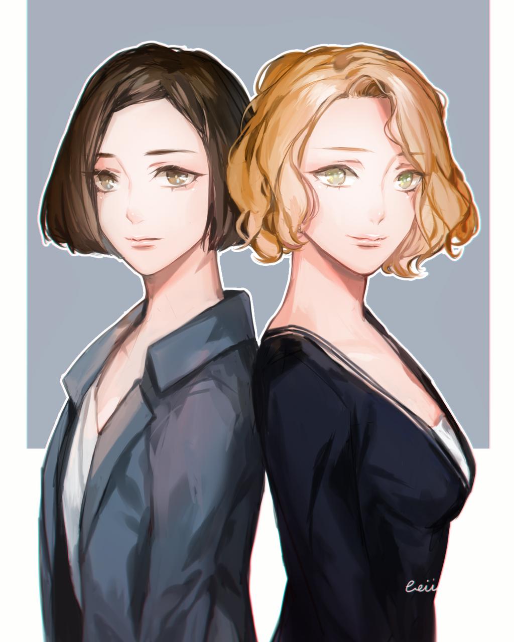 Goldstein Sisters By Beii Ac On Deviantart