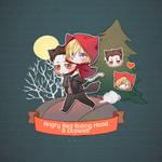 Angry Red Riding Hood 'n Otawolf