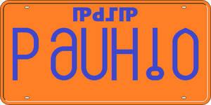 License Plate, Vanasova Province