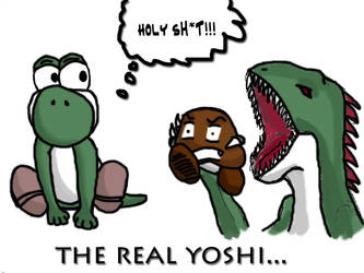 The Real Yoshi by shadowdevil502