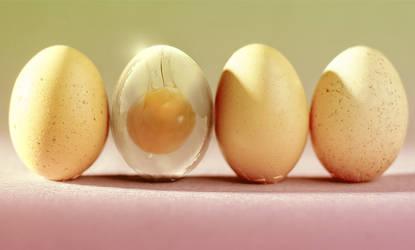 Glass Egg by PSHoudini