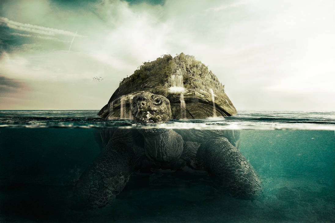 Giant Turtle + tut by PSHoudini