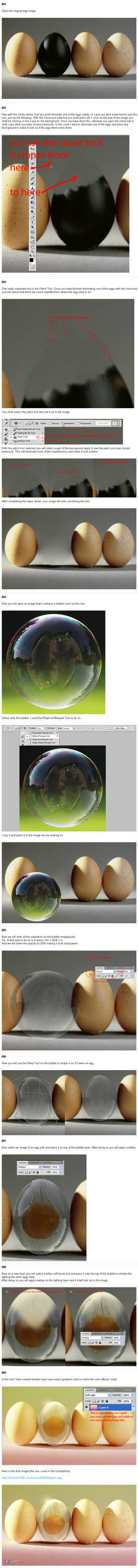 Glass Egg Tutorial - Photoshop
