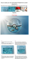Pokemon Bubble Tutorial - Photoshop