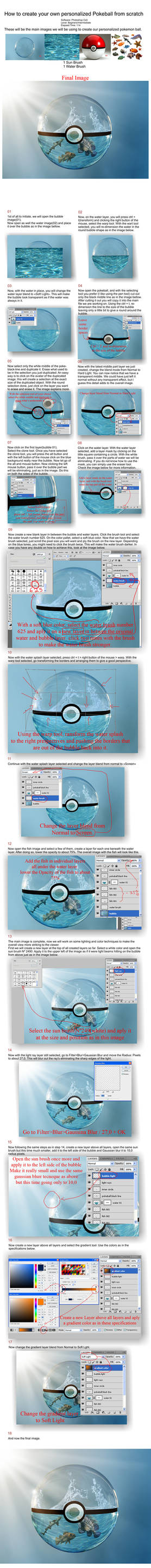 Pokemon Bubble Tutorial - Photoshop by PSHoudini