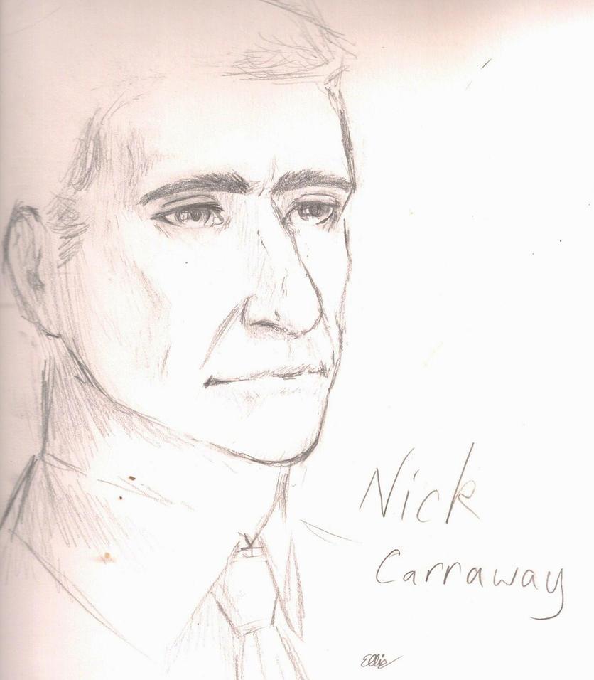 nick carraway character essay