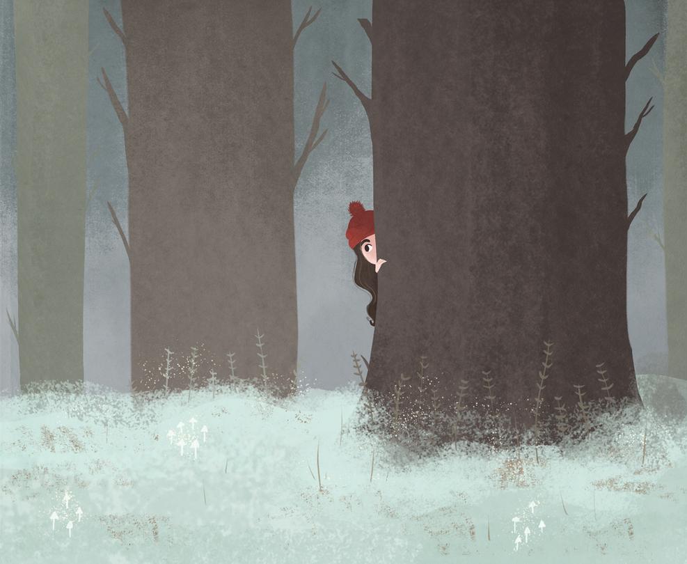 Snowchild by morgansketch