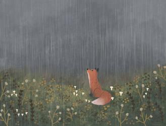 Rain Drops by morgansketch
