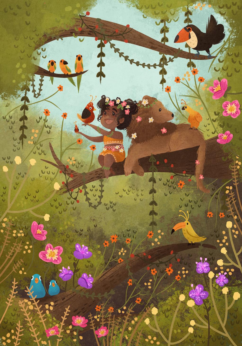 Jungle Days by morgansketch
