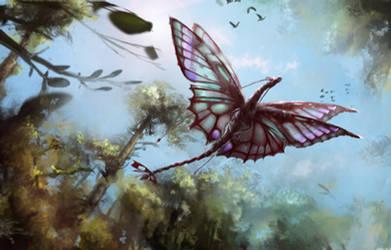 Butterfly Dragon - Pyrausta by StargazerRJL
