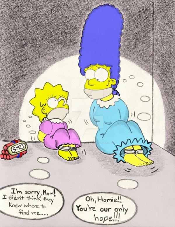 Lisa Simpson - Hob.Det -Color- by hypermagneto999
