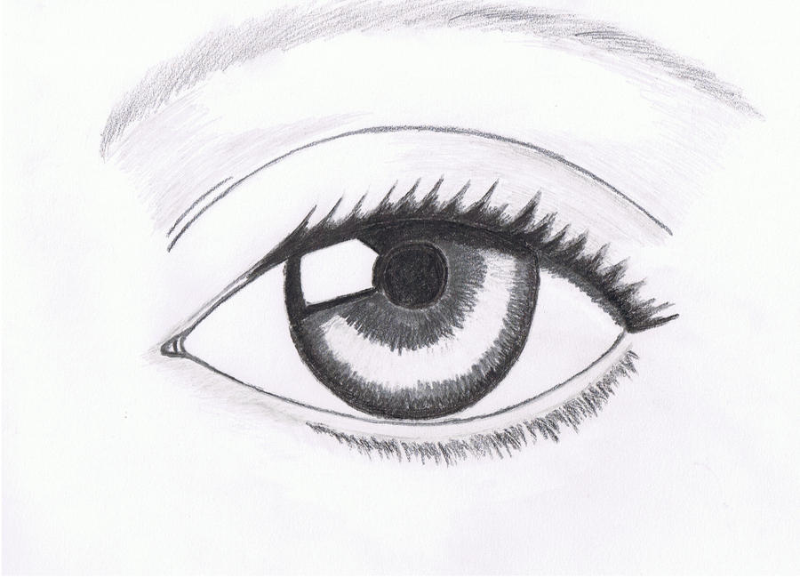 D Line Drawings Ideas : Practice drawing lesson of human eye by hypermagneto on